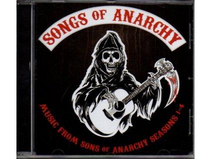 Zákon gangu (soundtrack - CD) Sons of Anarchy: Songs of Anarchy Seasons 1-4