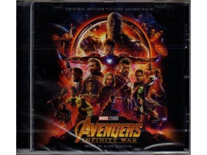 avengers infinity war soundtrack cd alan silvestri
