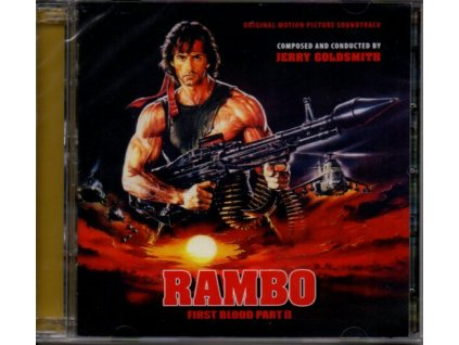 rambo 2 first blood part 2 soundtrack jerry goldsmith