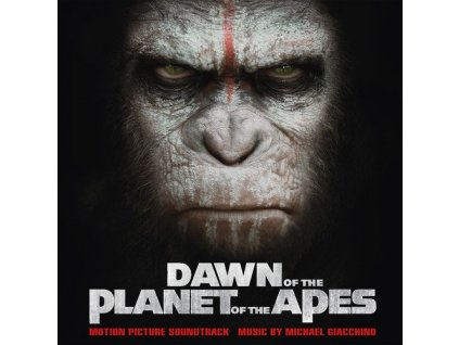 dawn of the planet of the apes soundtrack 2 lp vinyl michael giacchino