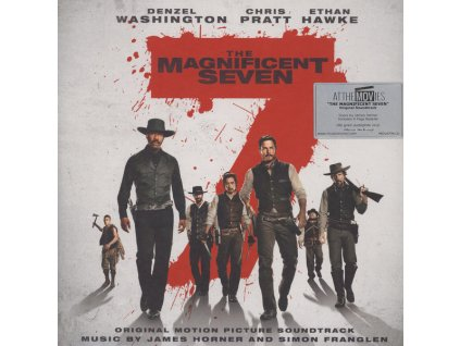 the magnificent seven soundtrack 2 lp vinyl james horner