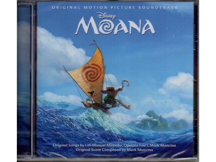 moana soundtrack cd mark mancina