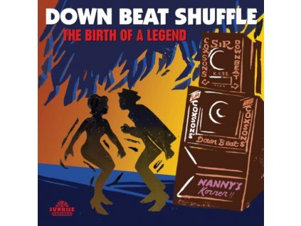 VARIOUS ARTISTS - Down Beat Shuffle - The Birth Of A Legend (LP)