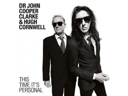 DR. JOHN COOPER CLARKE & HUGH CORNWELL - This Time Its Personal (LP)