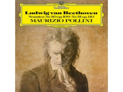 MAURIZIO POLLINI - Beethoven: Sonaten Op. 109. 110 (LP)
