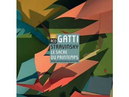 ROYAL CONCERTGEBOUW ORCHESTRA - Stravinsky: Le Sacre Du Printemps (LP)