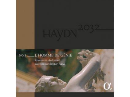 KAMMERORCHESTER BASEL / GIOVANNI ANTONINI - Haydn: Symphonies Vol.5 - LHomme De Genie (LP)
