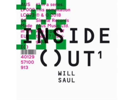 WILL SAUL - Inside Out (LP)