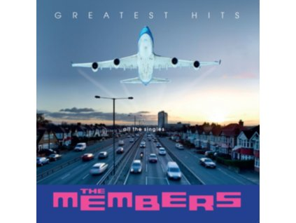 MEMBERS - Greatest Hits - All The Singles (Clear Vinyl) (LP)