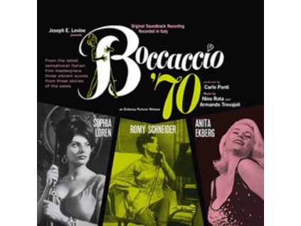 NINO ROTA / ARMANDO TROVAJOLI - Boccaccio 70 (LP)