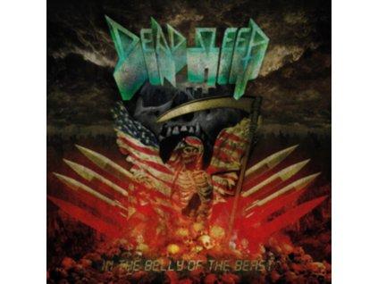 DEAD SLEEP - In The Belly Of The Beast (Red Vinyl) (LP)
