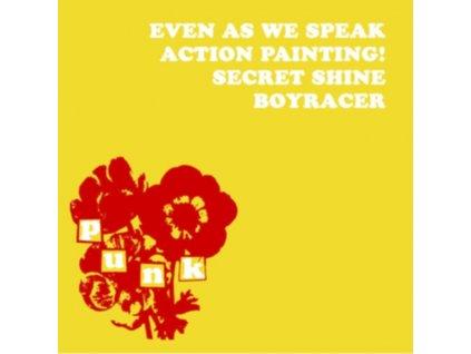 VARIOUS ARTISTS - Four Band Compilation (Ex-Sarah Records Bands) Even As We Speak. Boyracer. Action Painting!. Secret Shine (LP)