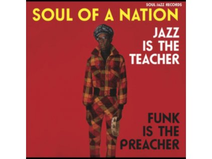 VARIOUS ARTISTS - Soul Of A Nation: Jazz Is The Teacher. Funk Is The Preacher - Afro-Centric Jazz (LP)
