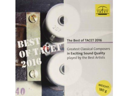 STUTTGART CHAMBER ORCHESTRA / ENRIQUE GRANADOS / DANIEL GAEDE / WOLFGANG KUHNL / ENSEMBLE PEREGRINA ET AL - The Best Of Tacet 2016: Greatest Classical Composers (LP)