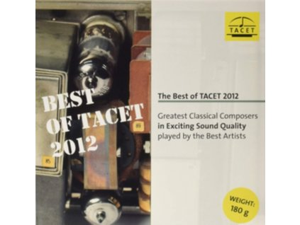 DANIEL GAEDE / EVGENI KOROLIOV / AURYN QUARTET / ARTUR SCHNABEL / POLISH CHAMBER PHILHARMONIC ORCHESTRA / DUO FAVORI - The Best Of Tacet 2012. Greatest Classical Composers In Exciting Sound Quality (LP)