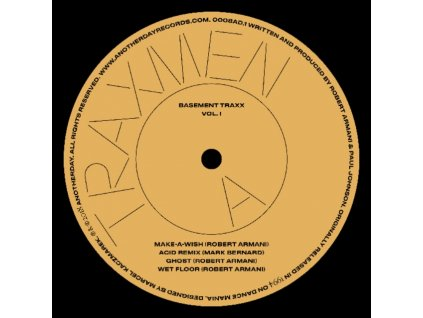 "TRAXMEN - Basement Traxx Vol. 1 (12"" Vinyl)"