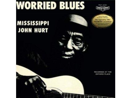 MISSISSIPPI JOHN HURT - Worried Blues (LP)