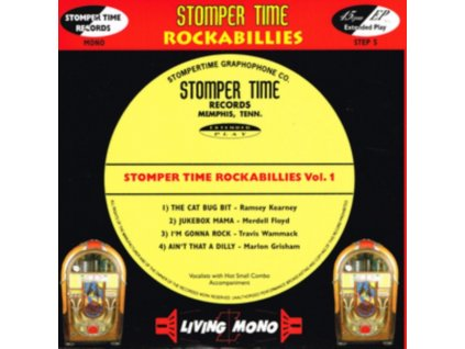 "VARIOUS ARTISTS - Stomper Time Rockabillies Volume 1 (7"" Vinyl)"