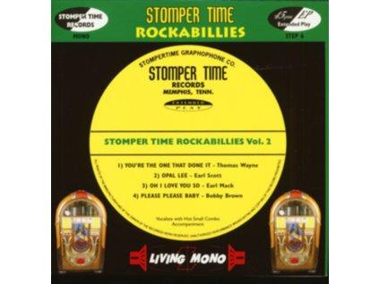 "VARIOUS ARTISTS - Stomper Time Rockabillies Volume 2 (7"" Vinyl)"