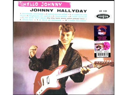 JOHNNY HALLYDAY - Hello Johnny Grave (Etched Pink Vinyl) (Rsd 2019) (LP)