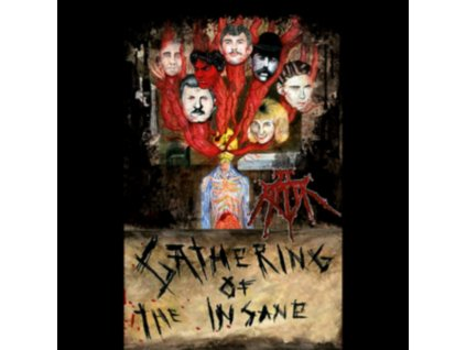 JT RIPPER - Gathering Of The Insane (LP)