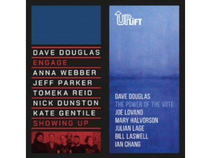 """DAVE DOUGLAS - Showing Up / The Power Of The Vote (7"""" Vinyl)"""
