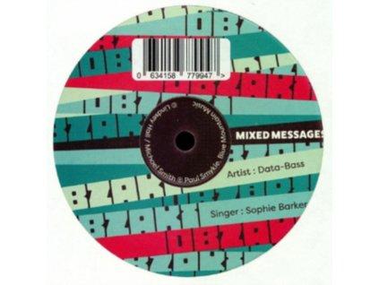 """DATA BASS - Mixed Messages (Feat. Sophie Barker) (10"""" Vinyl)"""