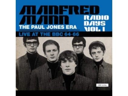 MANFRED MANN - Radio Days Vol. 1 - The Paul Jones Era. Live At The Bbc 64-66 (LP)