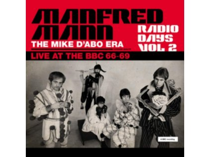 MANFRED MANN - Radio Days Vol. 2 - The Mike DAbo Era. Live At The Bbc 66-69 (LP)