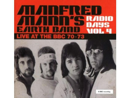 MANFRED MANNS EARTH BAND - Radio Days Vol. 4 - Live At The Bbc 70-73 (LP)
