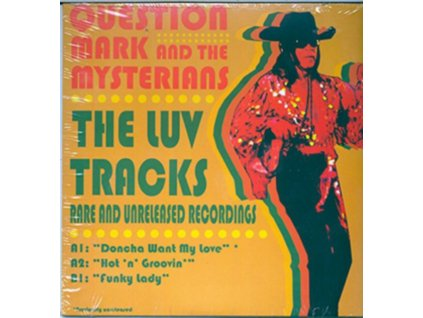 """QUESTION MARK AND THE MYSTERIANS - The Luv Tracks (RSD 2019) (7"""" Vinyl)"""