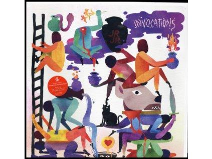 JR JR - Invocations / Conversations (Coloured Vinyl) (LP)