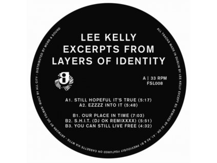 """LEE KELLY - Excerpts From Layers Of Identity (12"""" Vinyl)"""