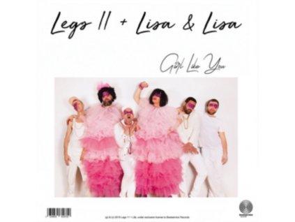 """LEGS 11 & LISA & LISA - Girl Like You (10"""" Vinyl)"""