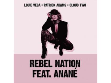 "LOUIE VEGA / PATRICK ADAMS - Rebel Nation (Danny Krivit / Soul Clap / Carl Craig / Felix Da Housecat X Chris Trucher Remixes) (Feat. Anane) (12"" Vinyl)"