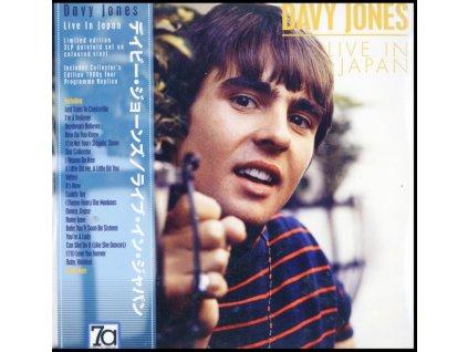 DAVY JONES - Live In Japan (Coloured Vinyl) (LP)