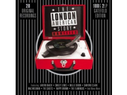 VARIOUS ARTISTS - The London American Story (LP)