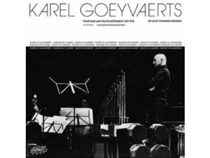 KAREL GOEYVAERTS - Karel Goeyvaerts (LP)