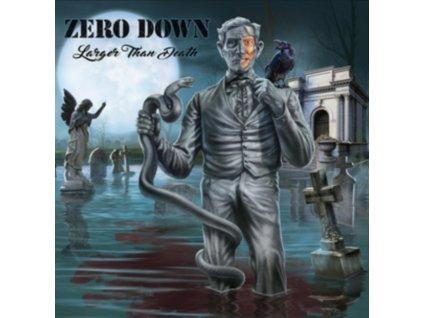 ZERO DOWN - Larger Than Death (LP)