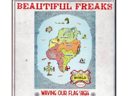VARIOUS ARTISTS - Beautiful Freaks - Waving Our Flag High (LP)