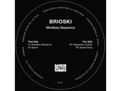 "BRIOSKI - Mindless Sequence EP (12"" Vinyl)"