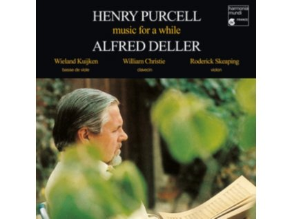 ALFRED DELLER / WIELAND KUIJKEN / WILLIAM CHRISTIE / RODERICK SKEAPING - Purcell: Music For A While (LP)