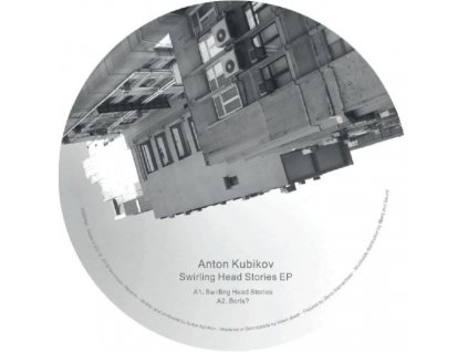 "ANTON KUBIKOV - Swirling Head Stories Extended Play (12"" Vinyl)"