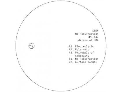 """SEER - No Resurrection (12"""" Vinyl)"""