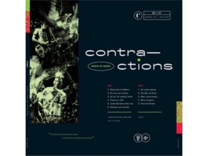CONTRACTIONS - Demain Est Annule (LP)