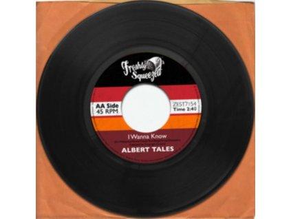 "ALBERT TALES - I Wanna Know / Tipsy (Dinked Vinyl) (7"" Vinyl)"