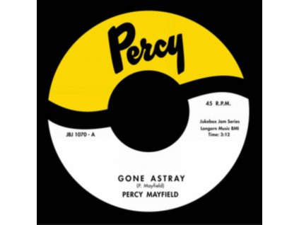 """PERCY MAYFIELD - Gone Astray / Advice (For Men Only) (7"""" Vinyl)"""