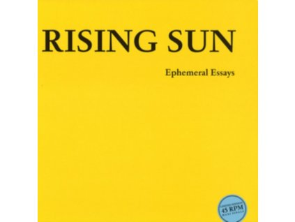 "RISING SUN - Ephemeral Essays (12"" Vinyl)"