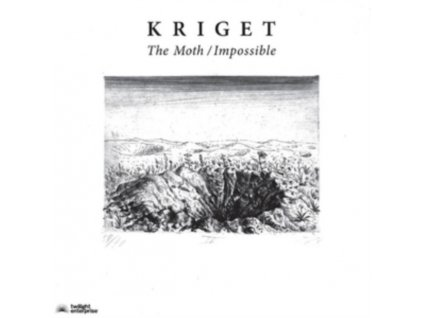 """KRIGET - The Moth / Impossible (7"""" Vinyl)"""