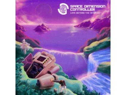SPACE DIMENSION CONTROLLER - Love Beyond The Intersect (Purple Vinyl) (LP)